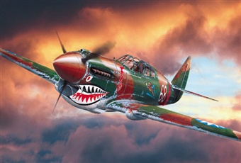 The Curtiss P-40 'Warhawk'