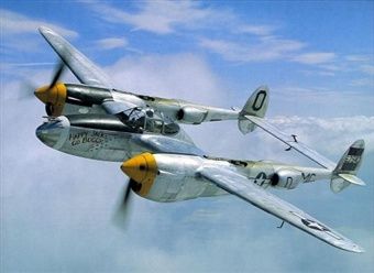 The Lockheed P-38 'Lightning'