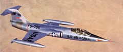 The Lockheed F-104 'Starfighter'