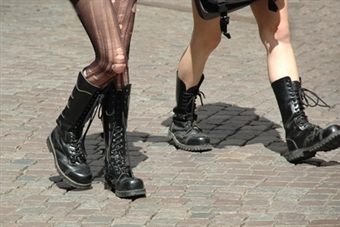 Combat-Style Boots